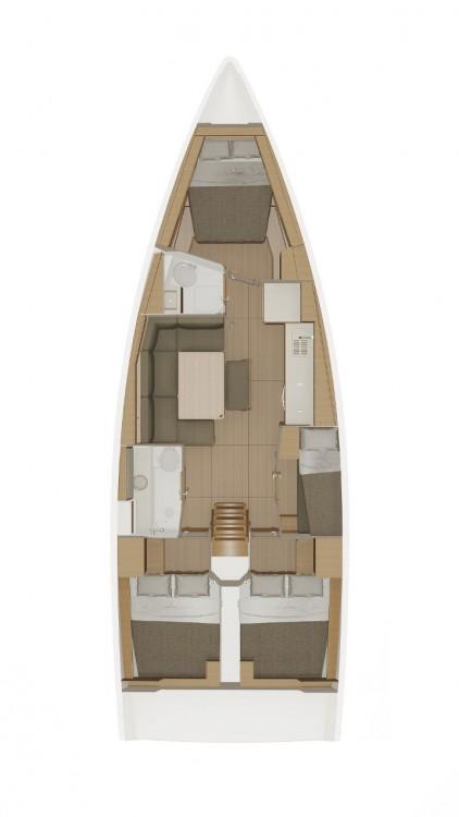 Location yacht à Croatie - Dufour Dufour 430 GL sur SamBoat
