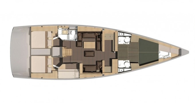 Location yacht à Marina di Portisco - Dufour Dufour 56 Exclusive 2019 sur SamBoat