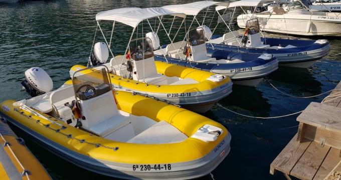 Louer Semi-rigide avec ou sans skipper Gommonautica à l'Estartit
