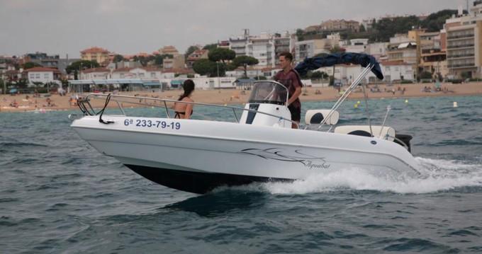Louer Bateau à moteur avec ou sans skipper Aquabat à Blanes