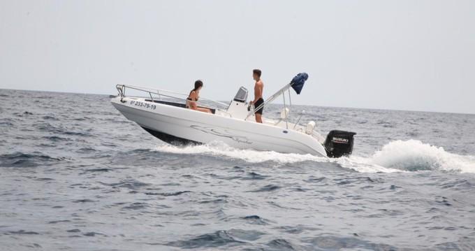 Location yacht à Blanes - Aquabat Sport lime 19 sur SamBoat