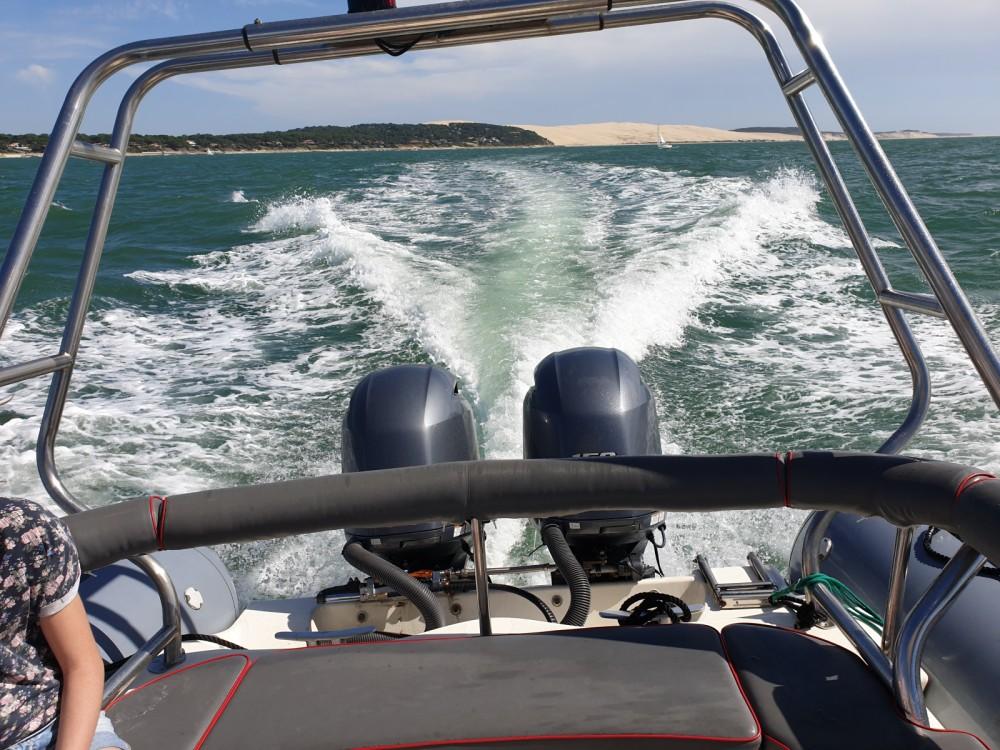 Location yacht à Lège-Cap-Ferret - Zodiac Proman 850 sur SamBoat