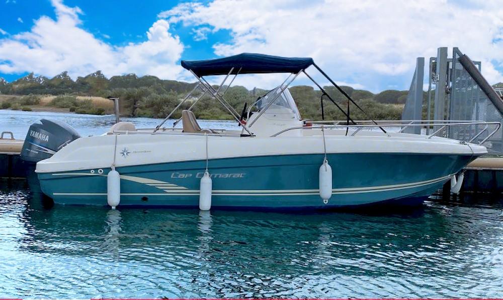 Location yacht à Antibes - Jeanneau Cap Camarat 6.5 CC Serie 2 sur SamBoat