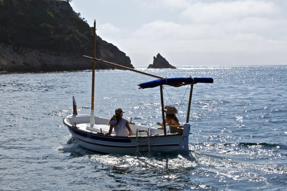 Louer Bateau à moteur avec ou sans skipper Pascual à Palamós