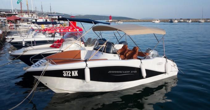 Location bateau Okiboats Barracuda 545 Open à Krk sur Samboat