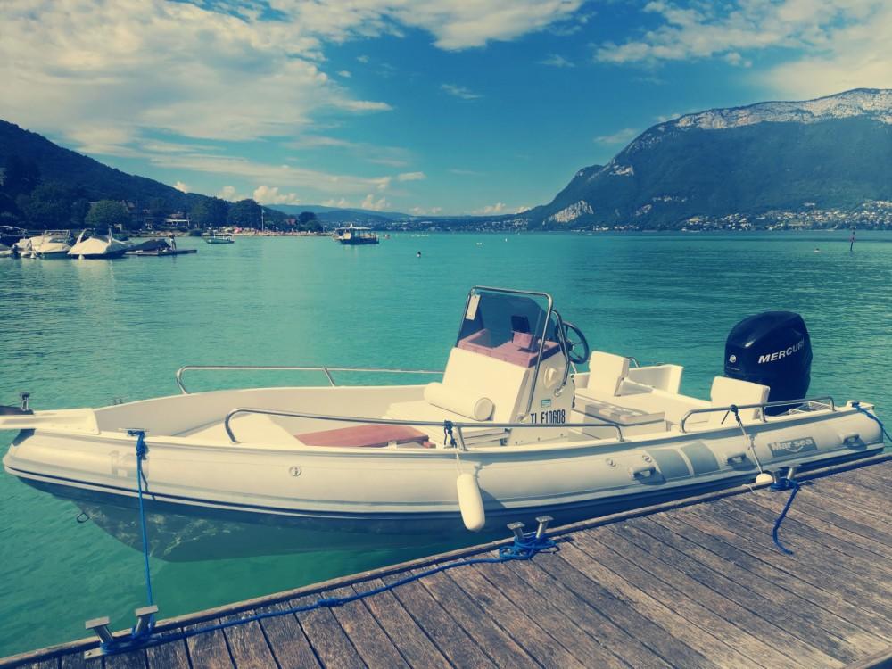Louer Semi-rigide avec ou sans skipper Marsea à Aix-les-Bains