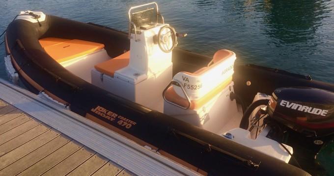 Location Semi-rigide à Île-aux-Moines - Joker Boat Coaster 470