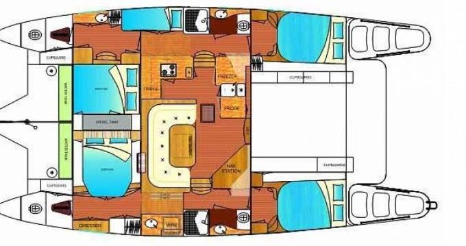 Location Catamaran à l'Estartit - Dean 441