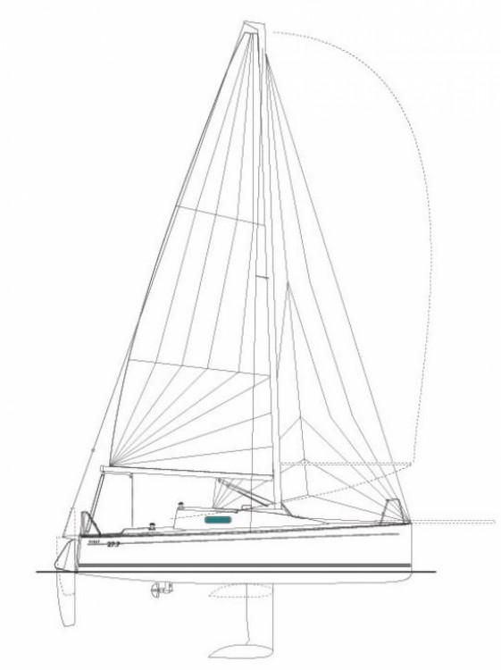 Location bateau La Trinité-sur-Mer pas cher First 27.7