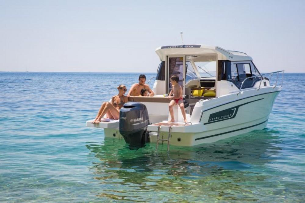 Location yacht à Le Barcarès - Jeanneau Merry Fisher 795 sur SamBoat