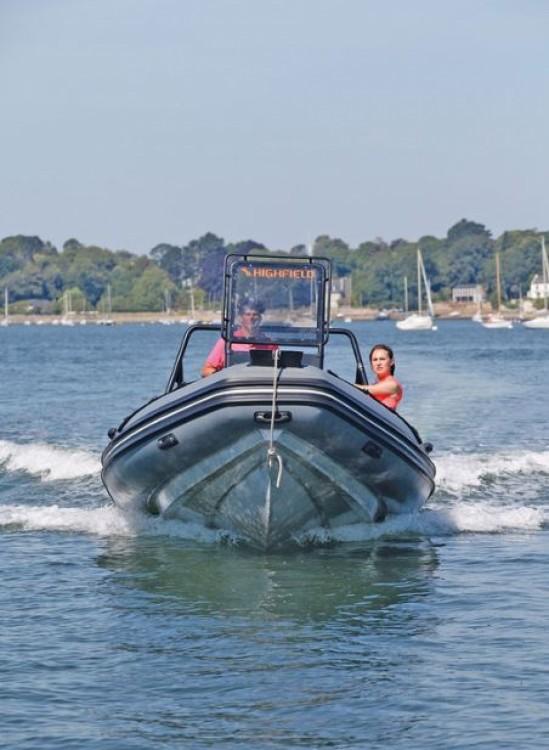 Location yacht à La Trinité-sur-Mer - Highfield Patrol 600 sur SamBoat