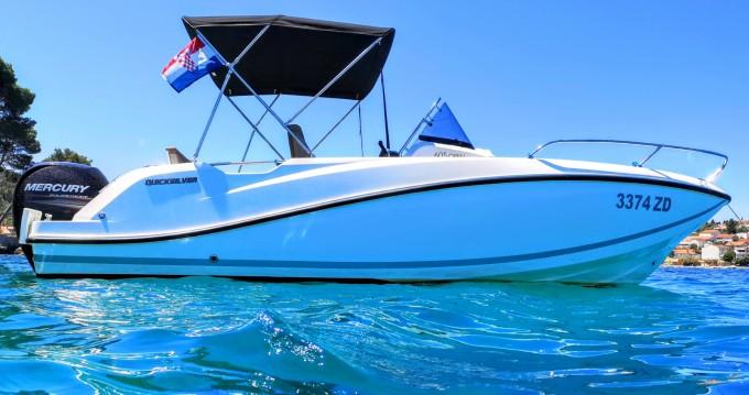 Location yacht à Zadar - Quicksilver Activ 605 Open Pack Sport sur SamBoat