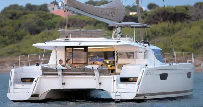 Location Catamaran à La Rochelle - Fountaine Pajot Saba 50
