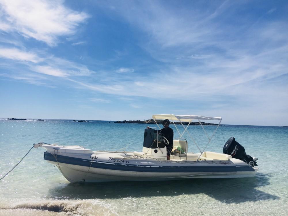 Gommonautica G65 entre particuliers et professionnel à Ibiza