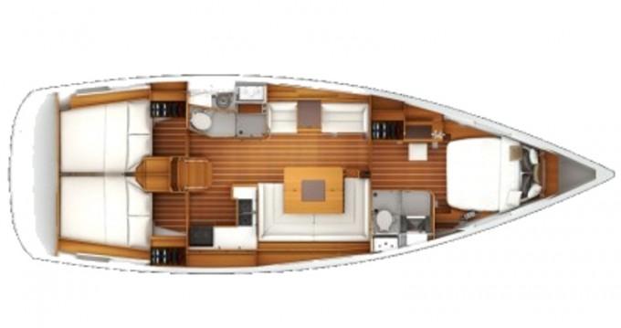 Louez un Jeanneau Sun Odyssey 439 à Nieuport