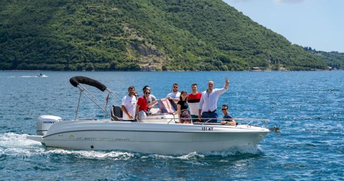 Location bateau Kotor pas cher open 670