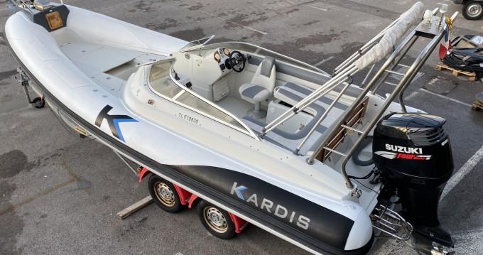 Louer Semi-rigide avec ou sans skipper Kardis à Banyuls-sur-Mer