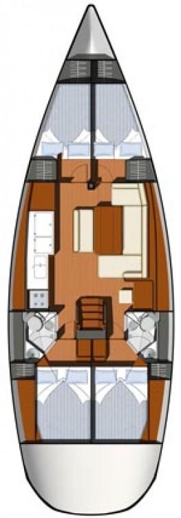 Jeanneau Sun Odyssey 44i entre particuliers et professionnel à Largs Yacht Haven