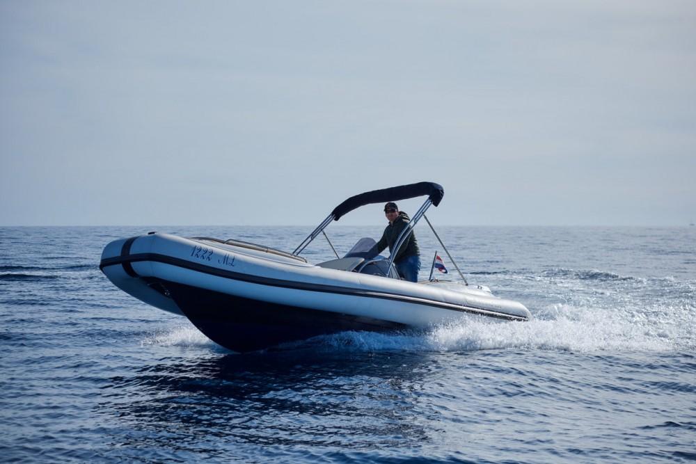 Louer Semi-rigide avec ou sans skipper Ris Marine à Primorje - Gorski Kotar