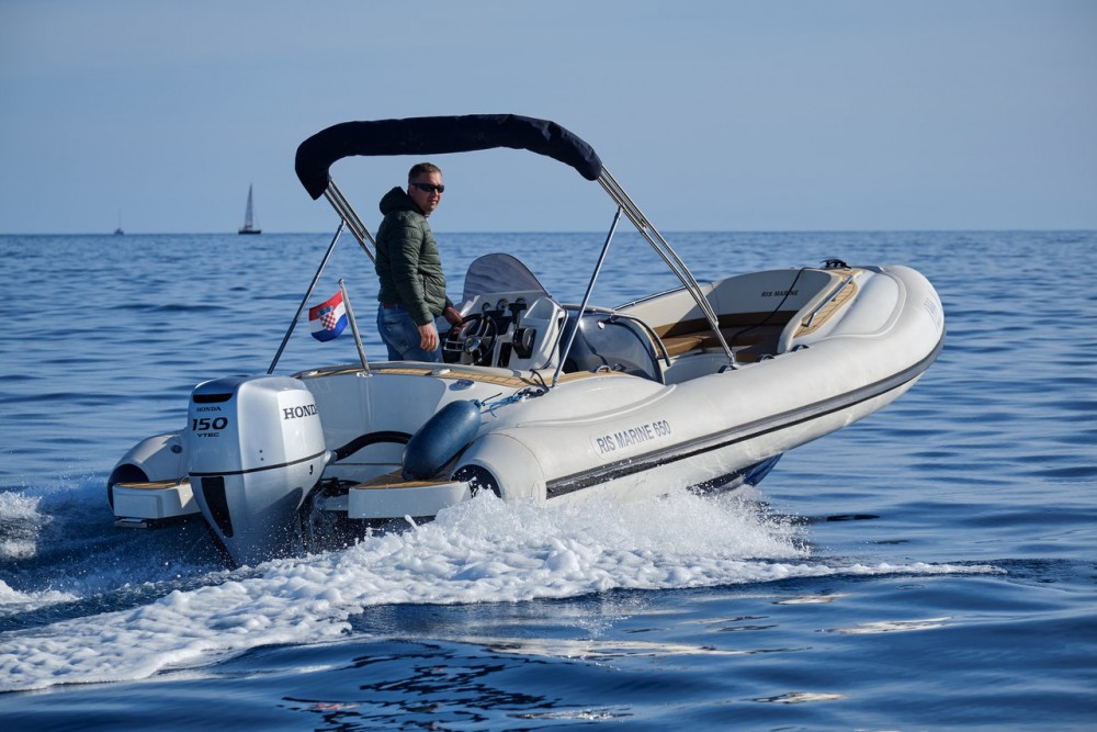 Location Semi-rigide à Primorje - Gorski Kotar - Ris Marine Ris Marine Exclusive 650
