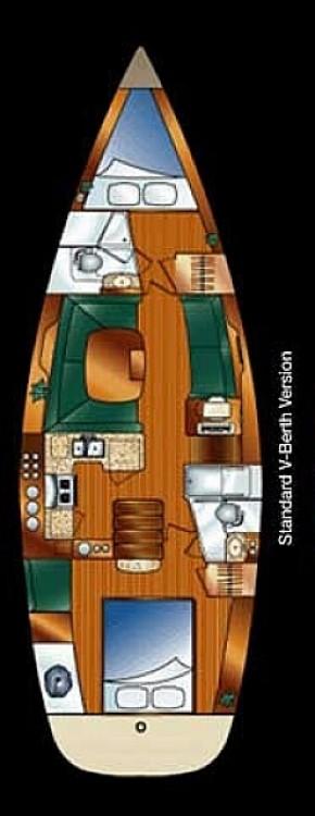 Location yacht à Fethiye - Hunter-Marine Hunter 44 DS sur SamBoat