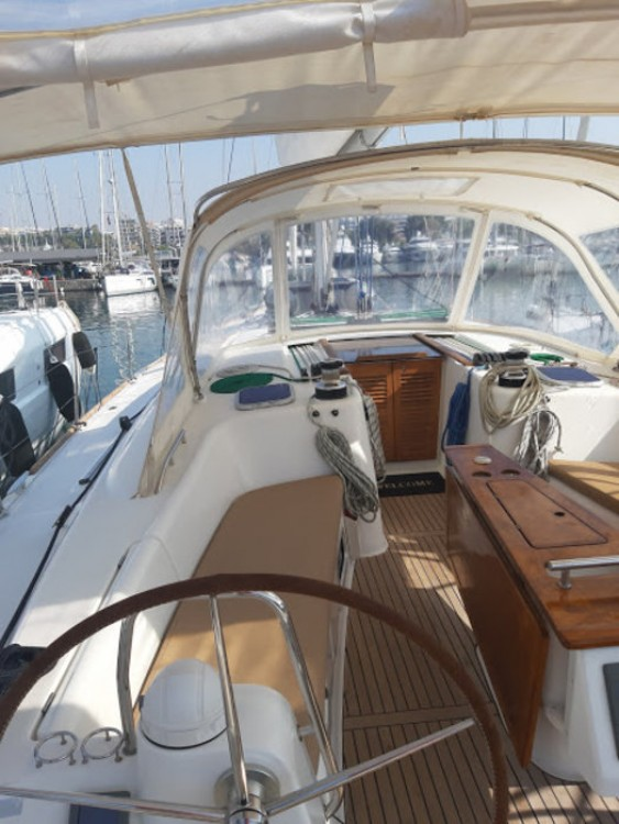 Location bateau Peloponnese pas cher Oceanis 54