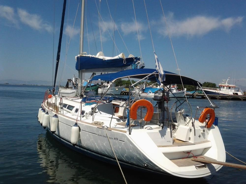 Jeanneau Sun Odyssey 49 entre particuliers et professionnel à Grèce