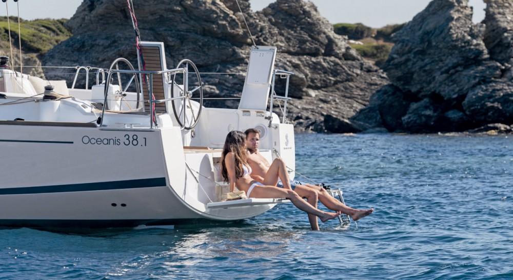 Location bateau Croatie pas cher Oceanis 38.1