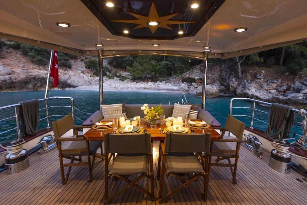 Location bateau Motor Sailer Motor Sailer - 3 cab. à Fethiye sur Samboat