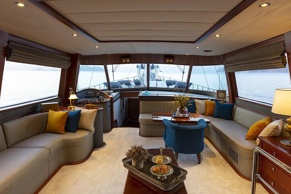 Location yacht à Fethiye - Motor Sailer Motor Sailer - 3 cab. sur SamBoat