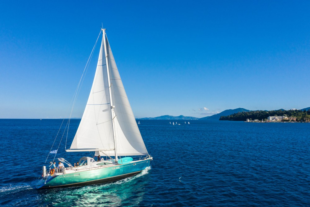 Location bateau Corfu pas cher Sun Odyssey 54 DS