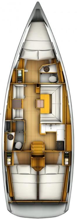 Location yacht à Kroatien - Jeanneau Sun Odyssey 419 sur SamBoat