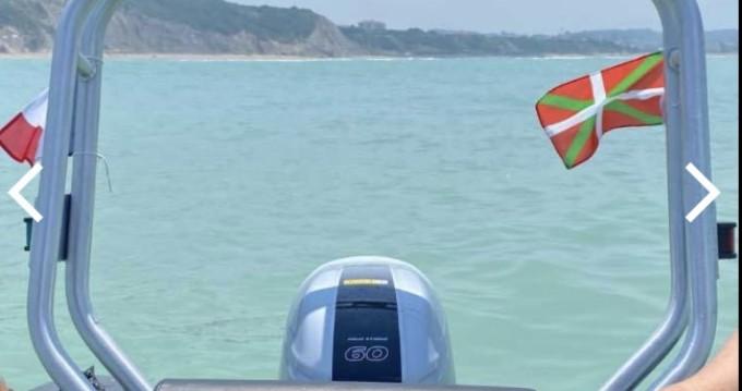 Location bateau Saint-Jean-de-Luz pas cher 3D Tender 535