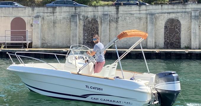 Jeanneau Cap Camarat 545 CC entre particuliers et professionnel à Saint-Raphaël