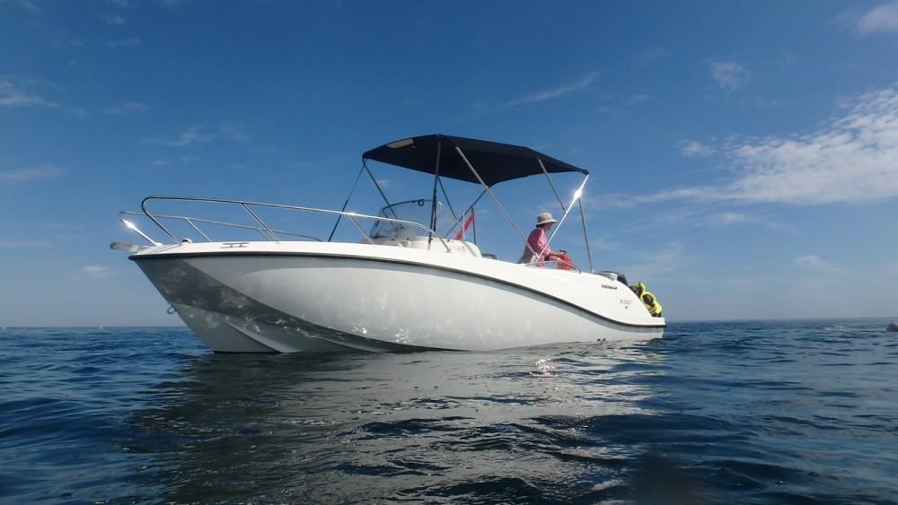 Location bateau Piriac-sur-Mer pas cher Quicksilver 675 Open Activ
