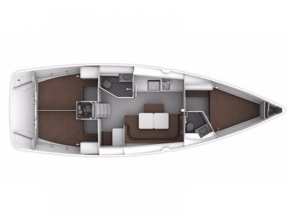 Location bateau Marina Pirovac pas cher Bavaria Cruiser 41S