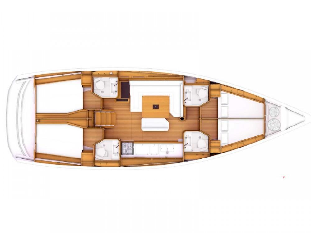 Location bateau Leucade pas cher Sun Odyssey 479