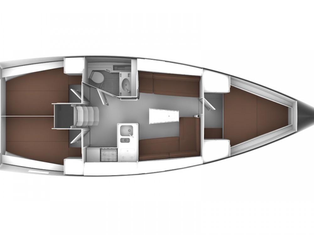 Location Voilier à Rhodes - Bavaria Bavaria Cruiser 37