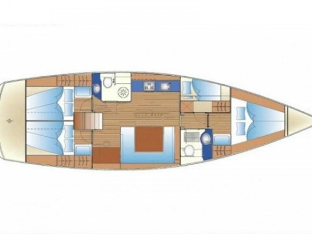 Location bateau Bavaria Bavaria 47 Cruiser à Rhodes sur Samboat