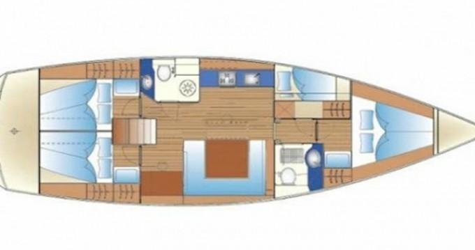 Location yacht à Rhodes - Bavaria Bavaria 47 Cruiser sur SamBoat