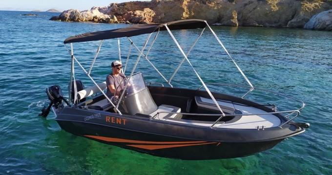 Location Bateau à moteur à Paros - The Sailor's Ride 450 XL