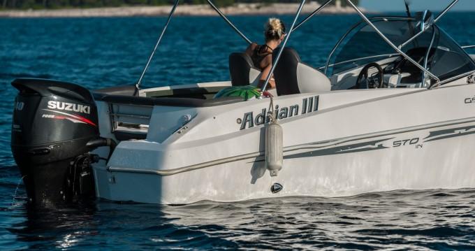 Location bateau Mali Lošinj pas cher 570 Sun Deck