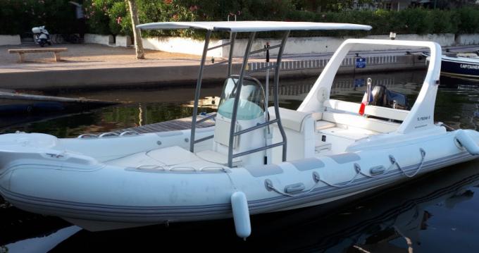 Louer Semi-rigide avec ou sans skipper EOS à Port Grimaud