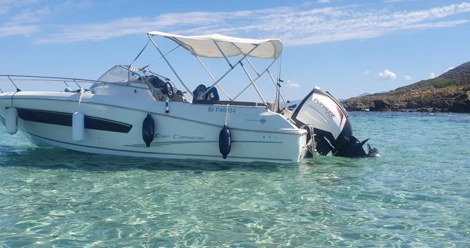 Location bateau Saint-Florent pas cher Cap Camarat 755 WA serie 2