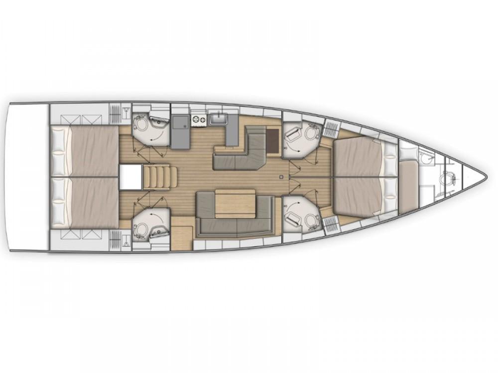 Location bateau Attique pas cher Oceanis 51.1