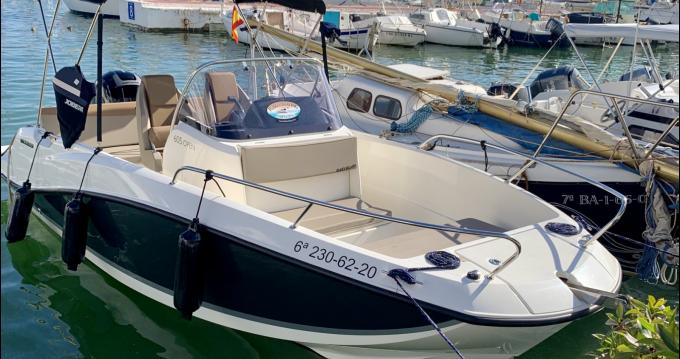 Location bateau Sitges pas cher Activ 605 Open