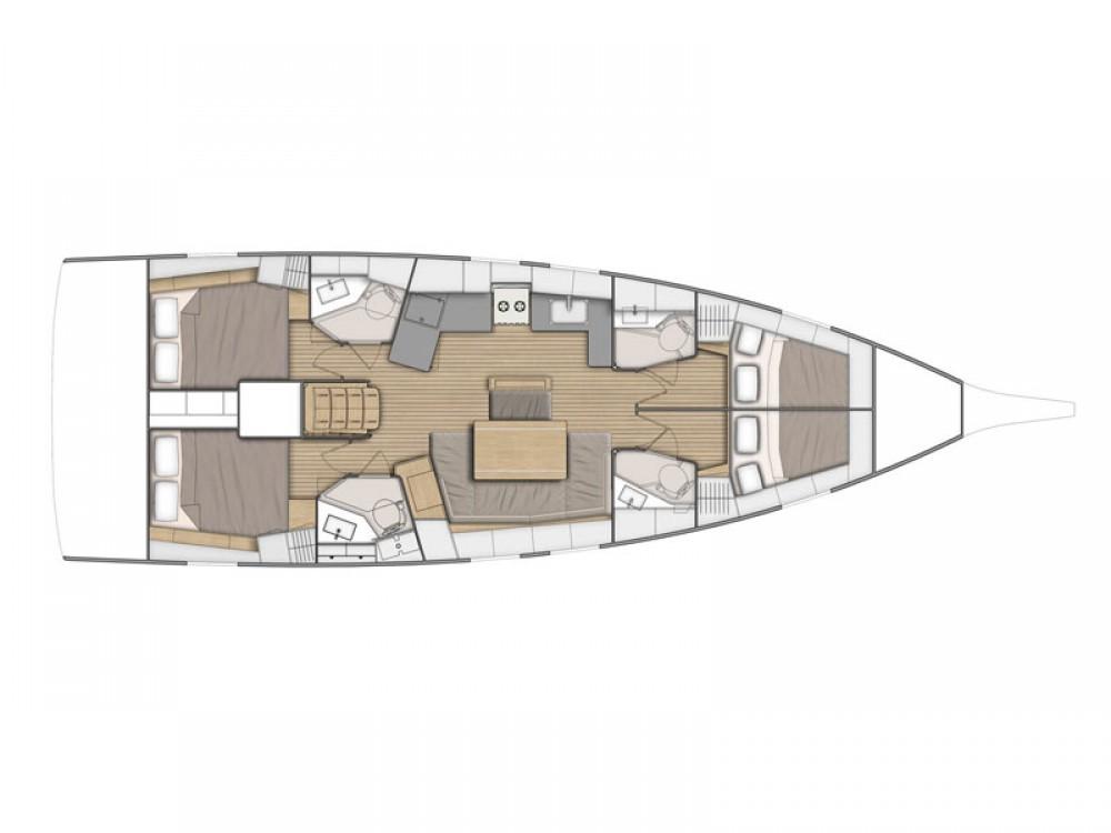 Louez un Bénéteau Oceanis 46.1 à Balearische Inseln