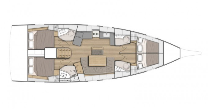 Bénéteau Oceanis 46.1 entre particuliers et professionnel à Cala d'Or