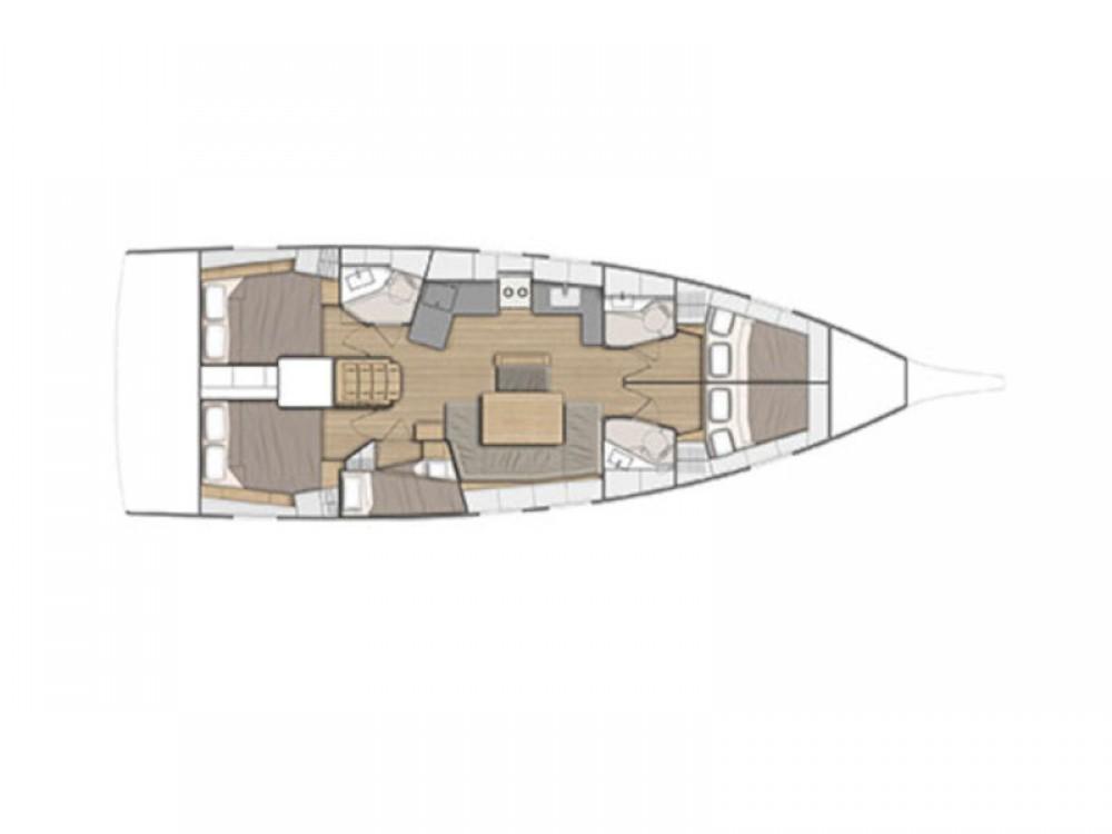 Location yacht à Álimos - Bénéteau Oceanis 461 sur SamBoat
