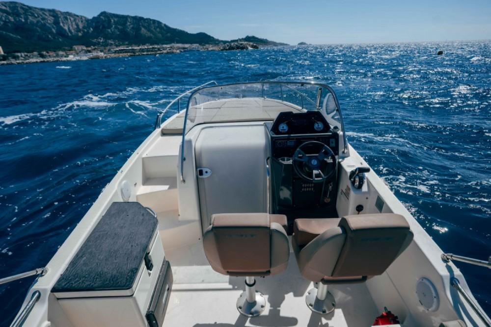Location Bateau à moteur à Marseille - Quicksilver Activ 755 Sundeck